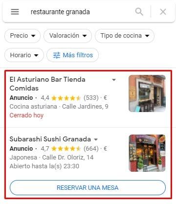 campañas google ads locales