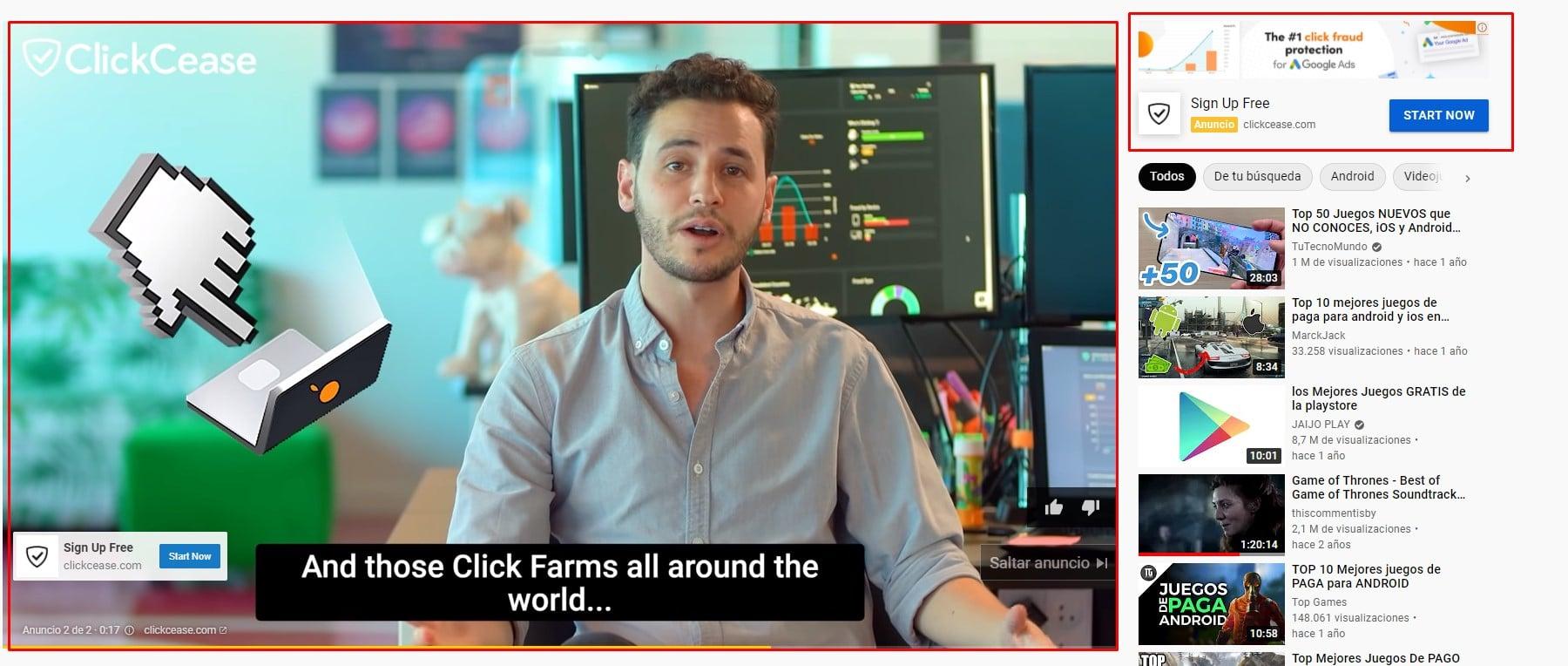 campañas google ads - video