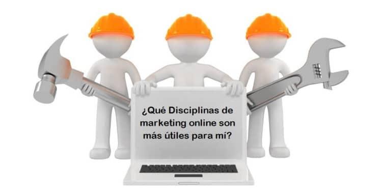 Principales disciplinas del marketing online