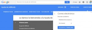 telefono google adwords