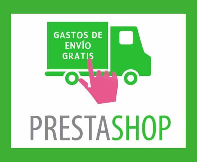 Como configurar gastos de envío gratuitos en Prestashop
