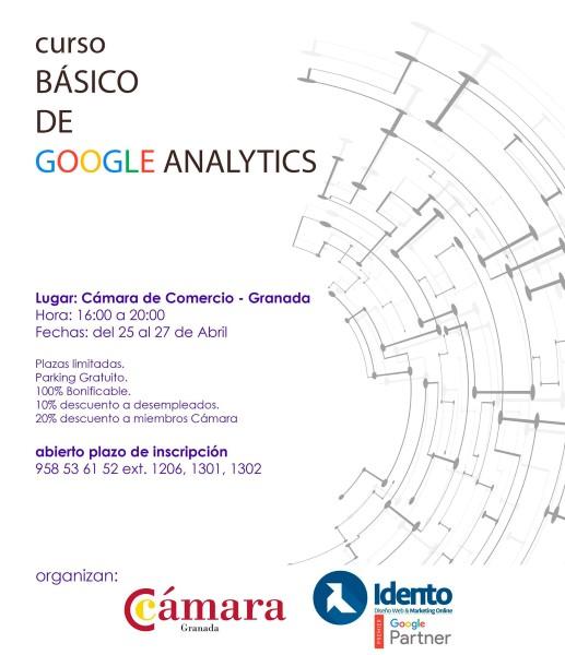 Programa del curso de Google Analytics impartido por Idento