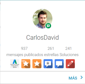 Carlos David Colaborador principal productos de Google