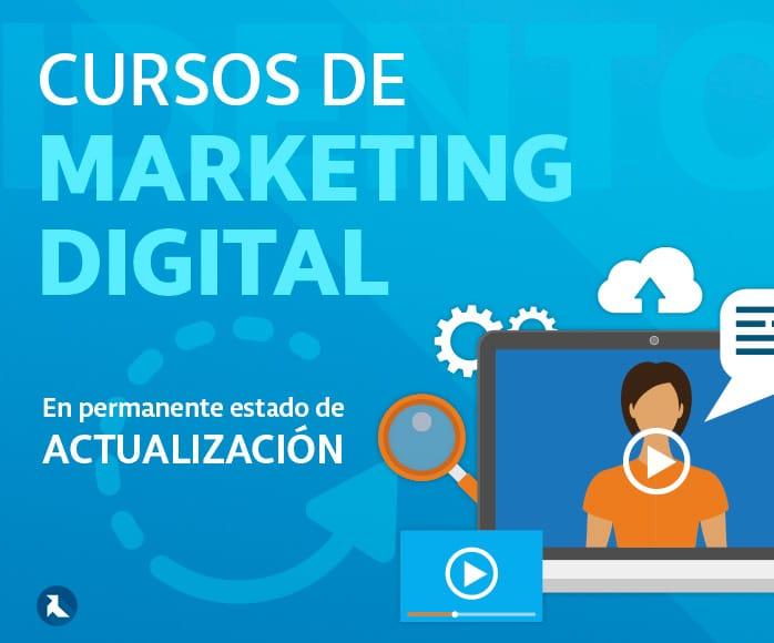 Curso de marketing digital ONLINE, imprescindible para estar actualizado