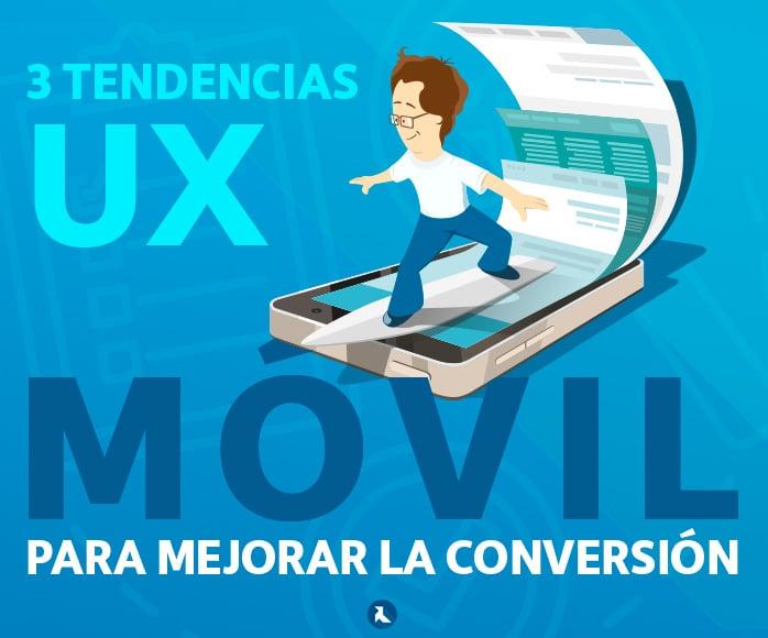 tendencias UX en móvil para conversión