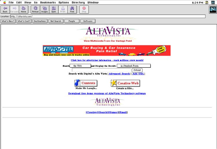 ver webs antiguas