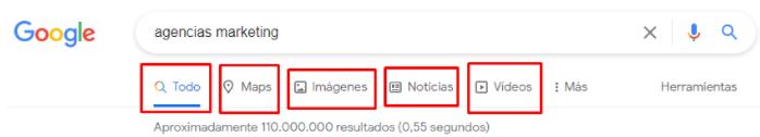 comandos de búsqueda de Google 2