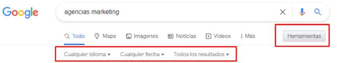 comandos búsqueda Google